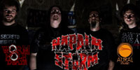 NAPALM STORM | Sign with WORMHOLEDEATH/Aural Music