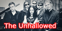 The Unhallowed sign with WORMHOLEDEATH/Aural Music Group