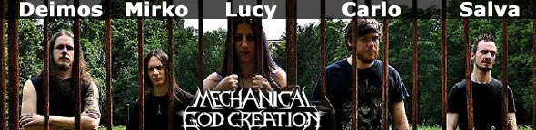 MECHANICAL GOD CREATION | New members and upcoming album
